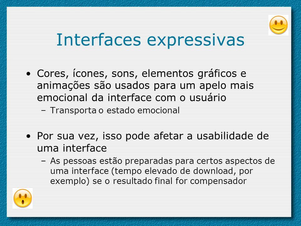Interfaces expressivas