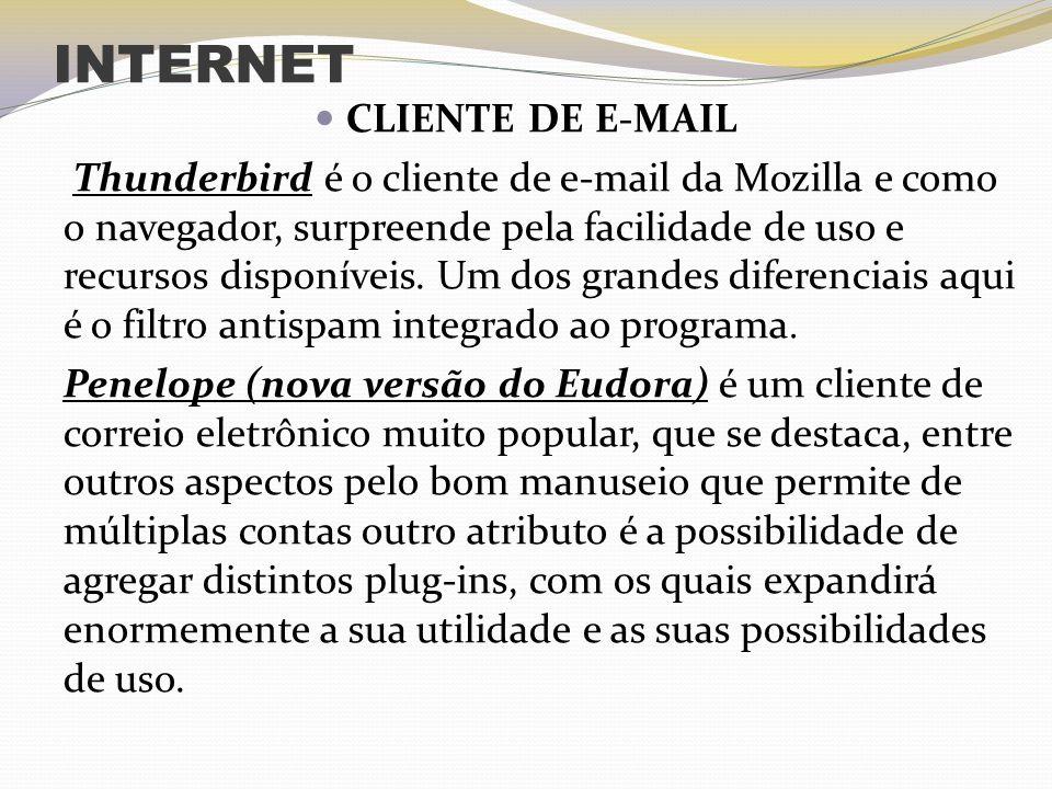 INTERNET CLIENTE DE E-MAIL