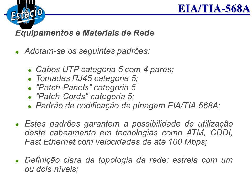 Equipamentos e Materiais de Rede