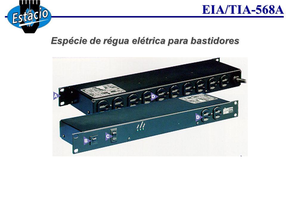 Espécie de régua elétrica para bastidores
