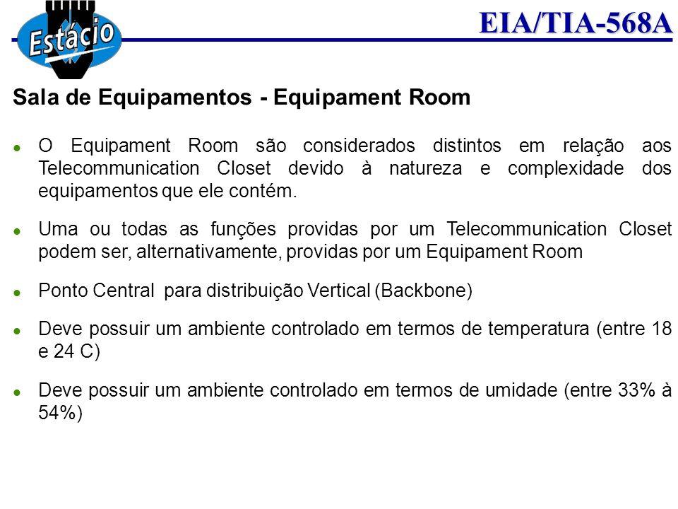 Sala de Equipamentos - Equipament Room