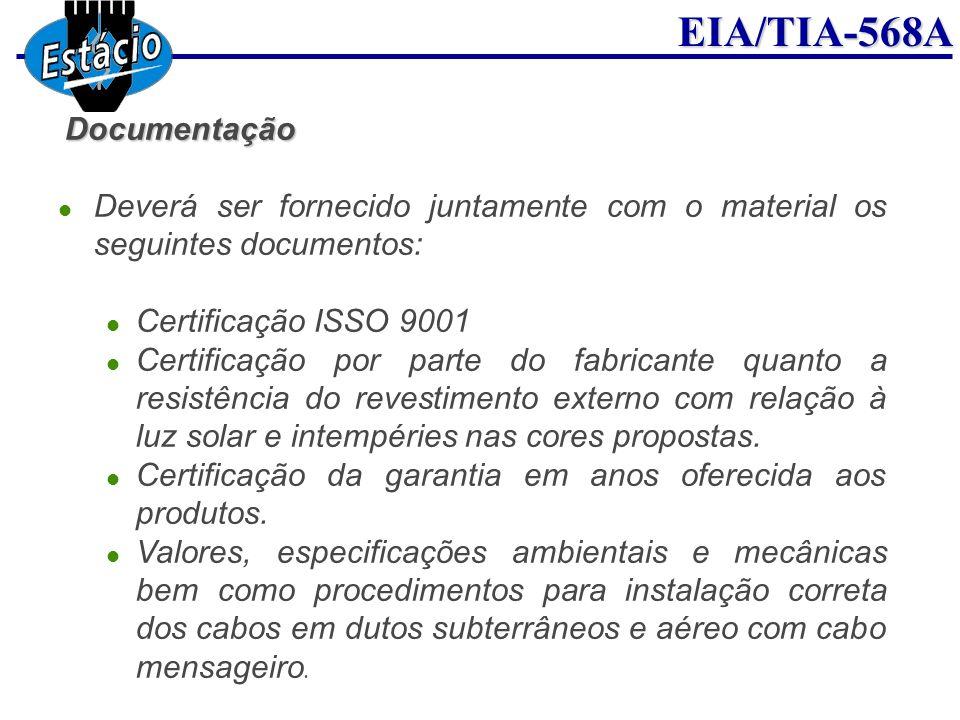 Certificação da garantia em anos oferecida aos produtos.