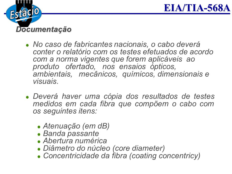 Diâmetro do núcleo (core diameter)