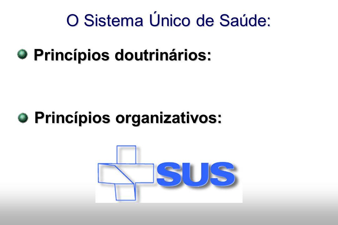 O Sistema Único de Saúde: