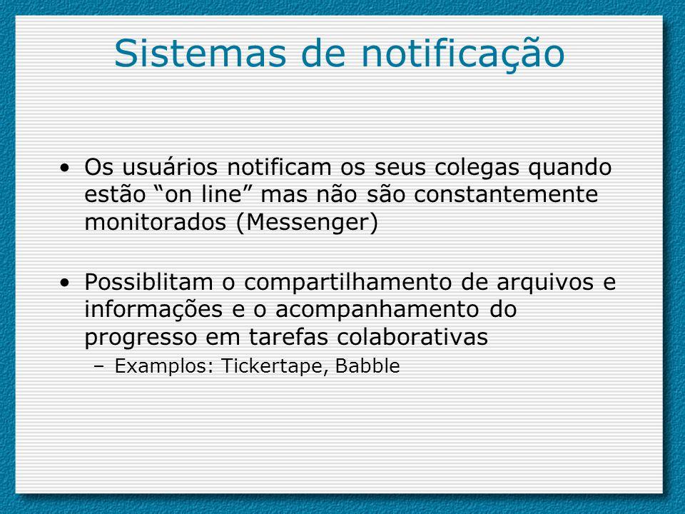 Sistemas de notificação