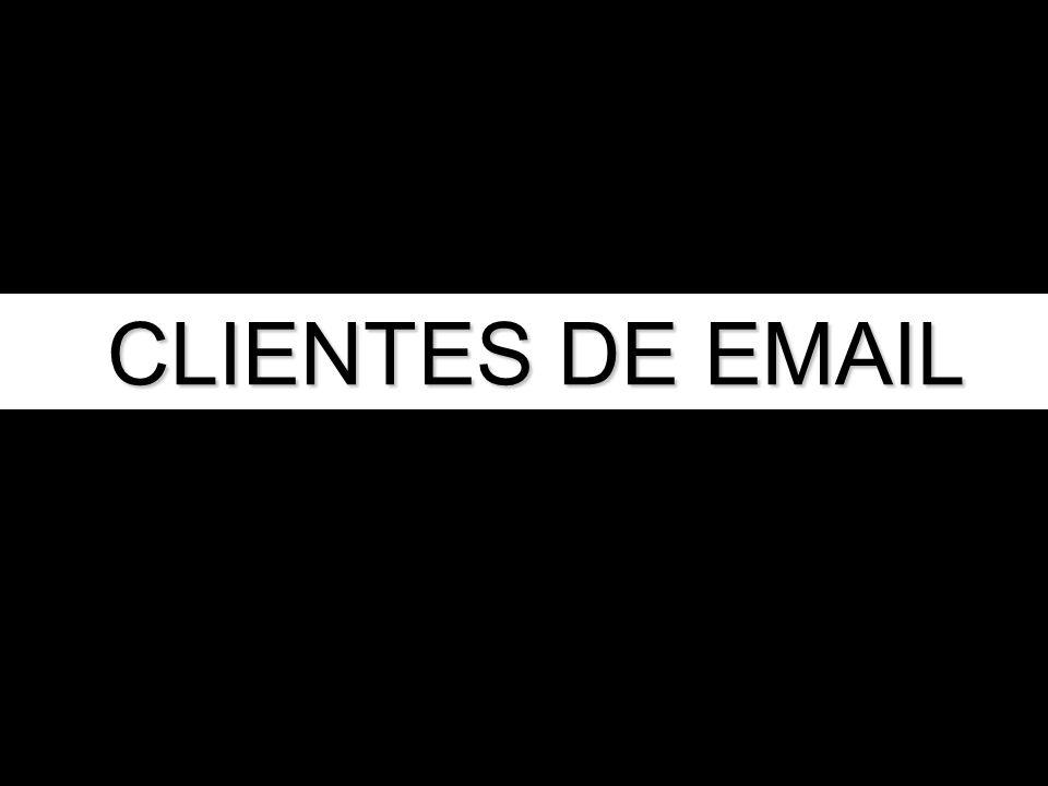CLIENTES DE EMAIL