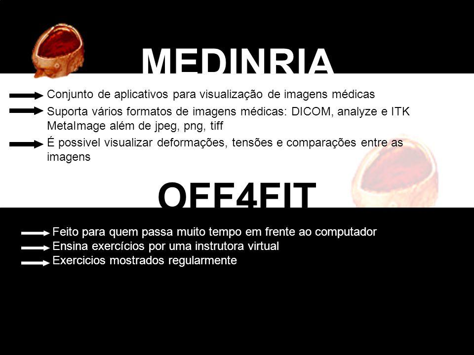 MEDINRIA Conjunto de aplicativos para visualização de imagens médicas.