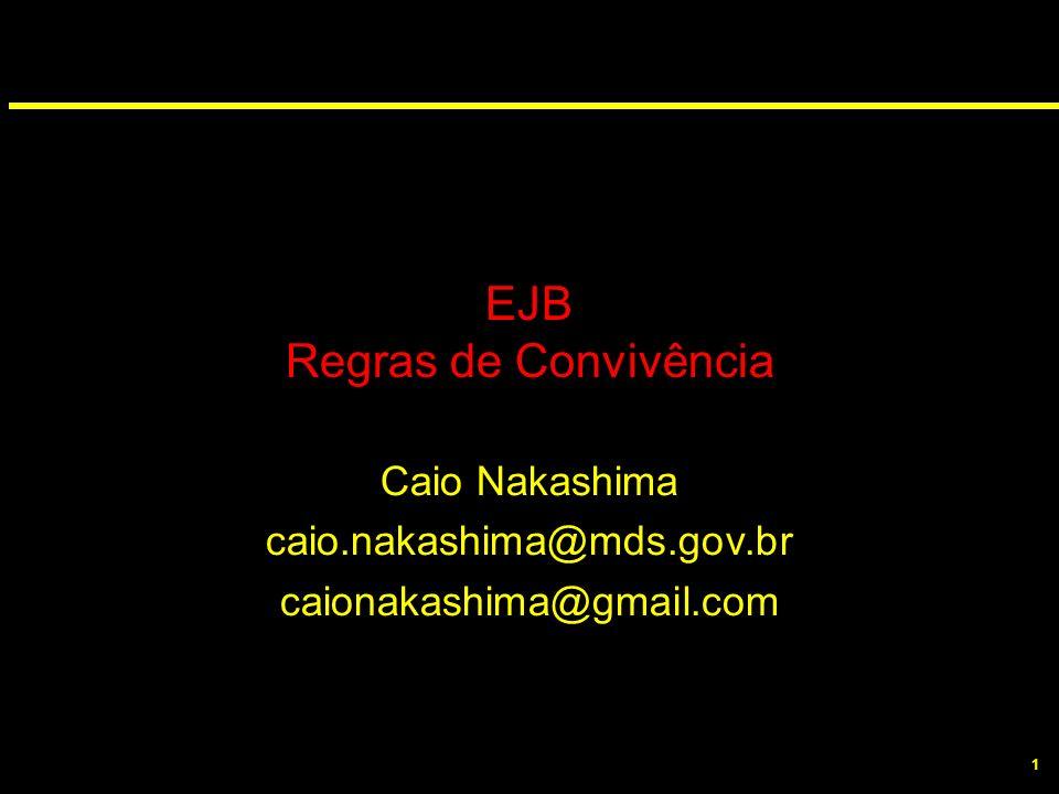 EJB Regras de Convivência
