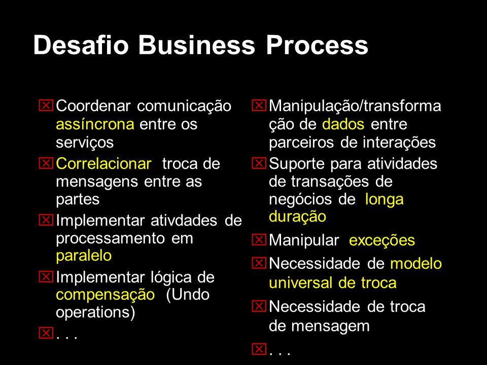 Desafio Business Process