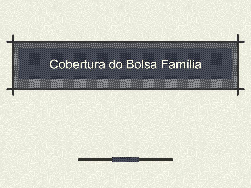 Cobertura do Bolsa Família