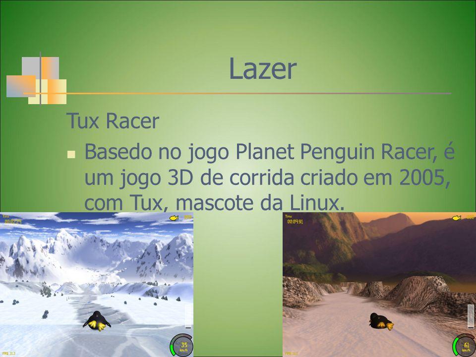 Lazer Tux Racer.