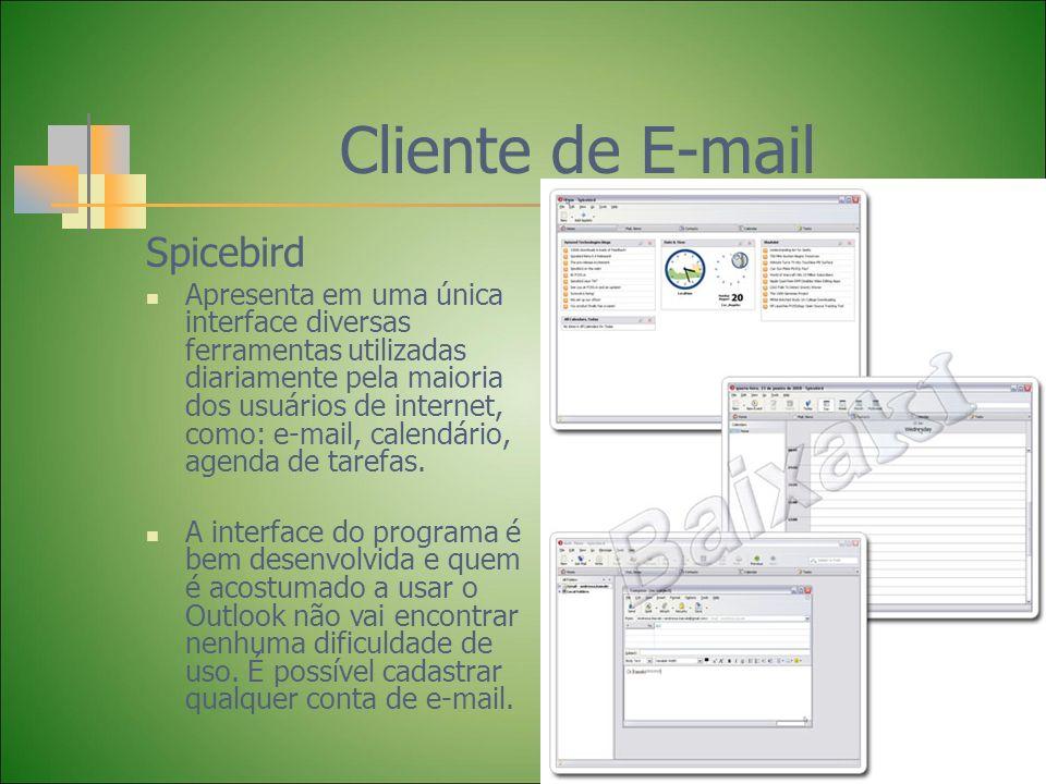 Cliente de E-mail Spicebird