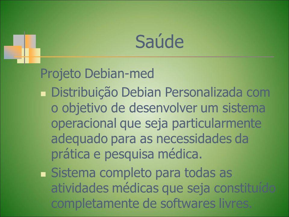 Saúde Projeto Debian-med