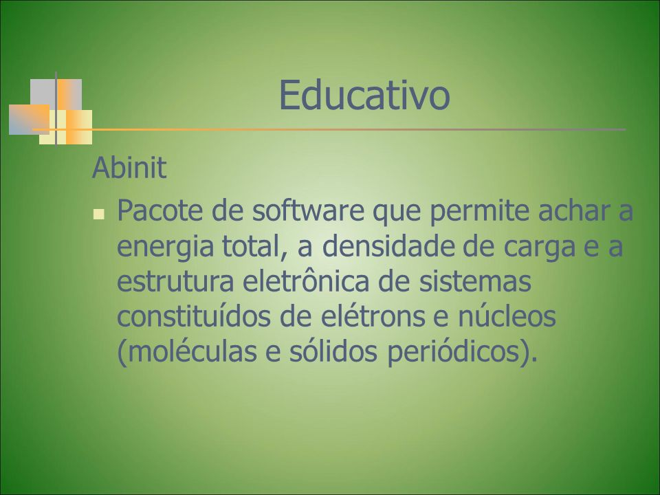 Educativo Abinit.