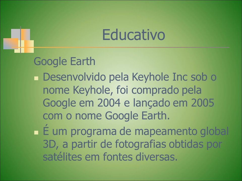 Educativo Google Earth