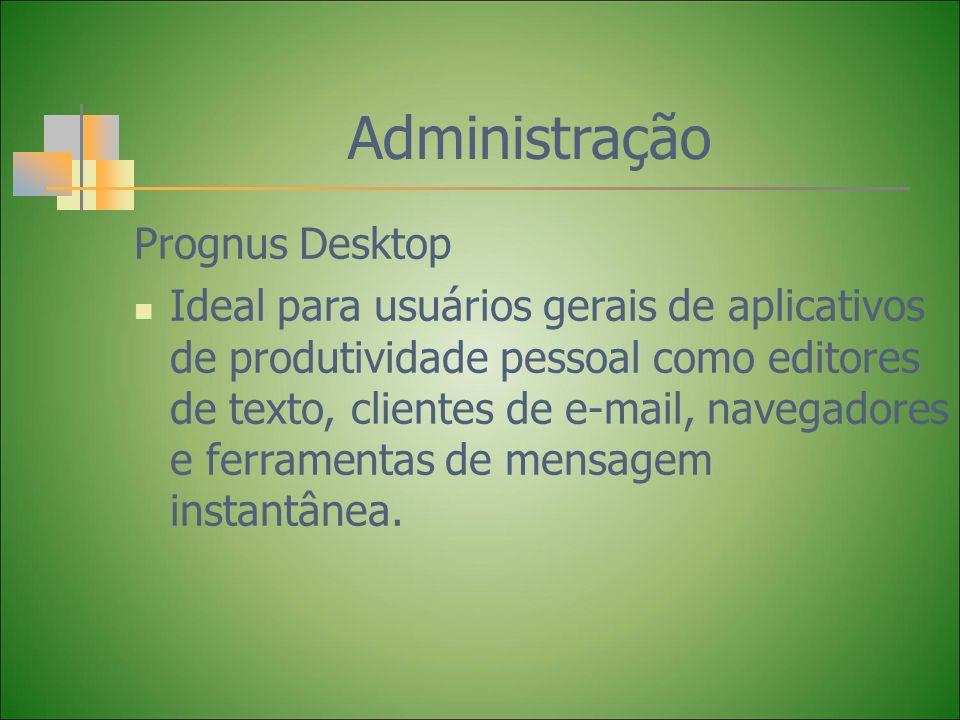 Administração Prognus Desktop