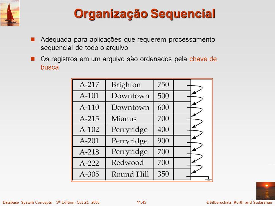 Organização Sequencial