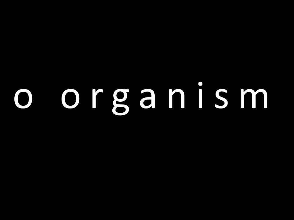 o organism