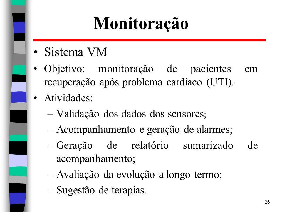 Monitoração Sistema VM