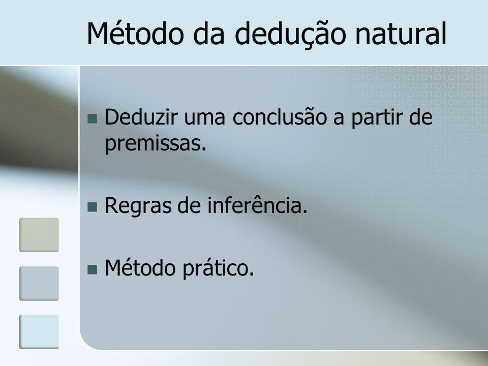 Método da dedução natural