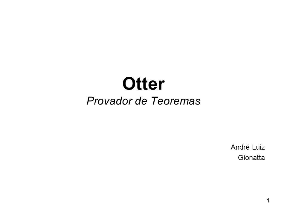 Otter Provador de Teoremas