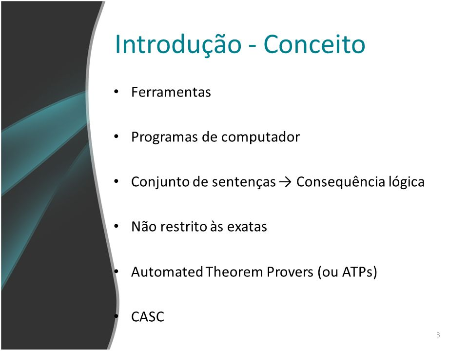 Introdução - Conceito Ferramentas Programas de computador