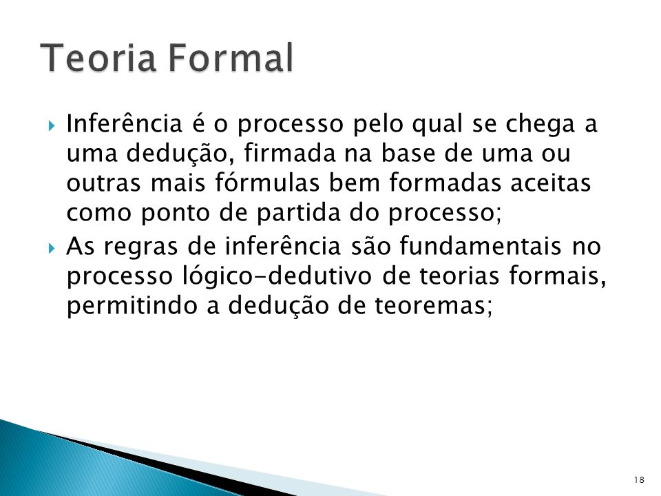 Teoria Formal