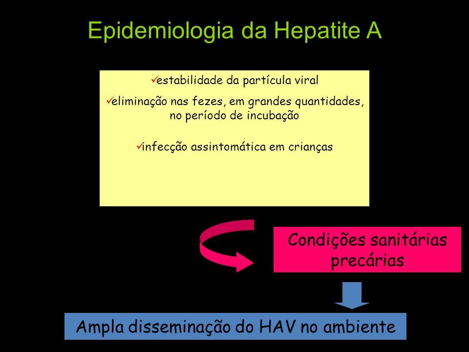 Epidemiologia da Hepatite A
