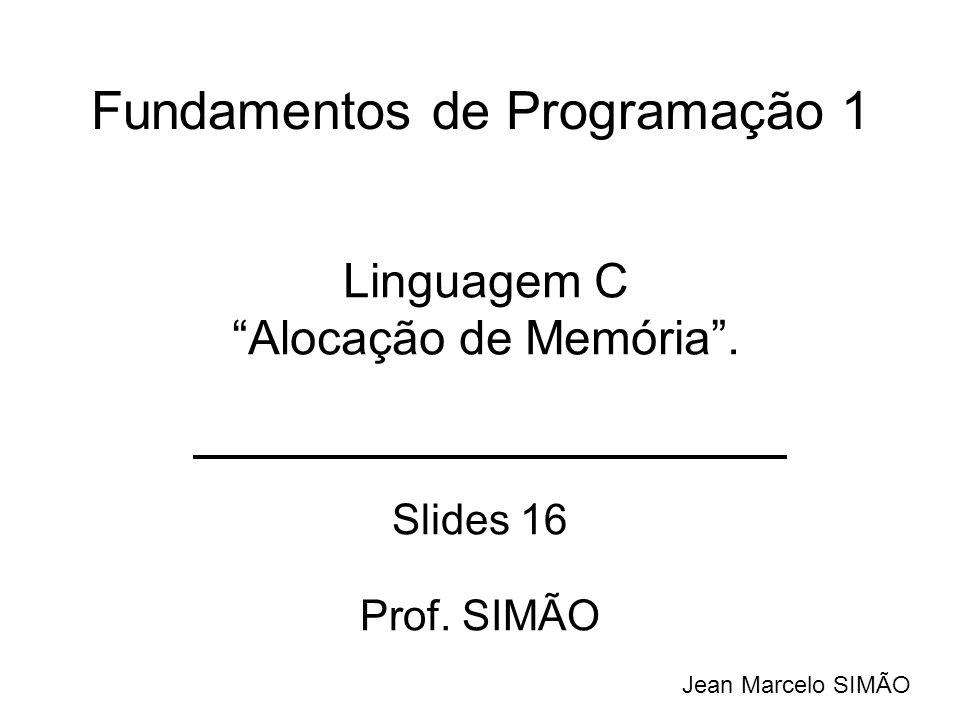 Fundamentos de Programação 1