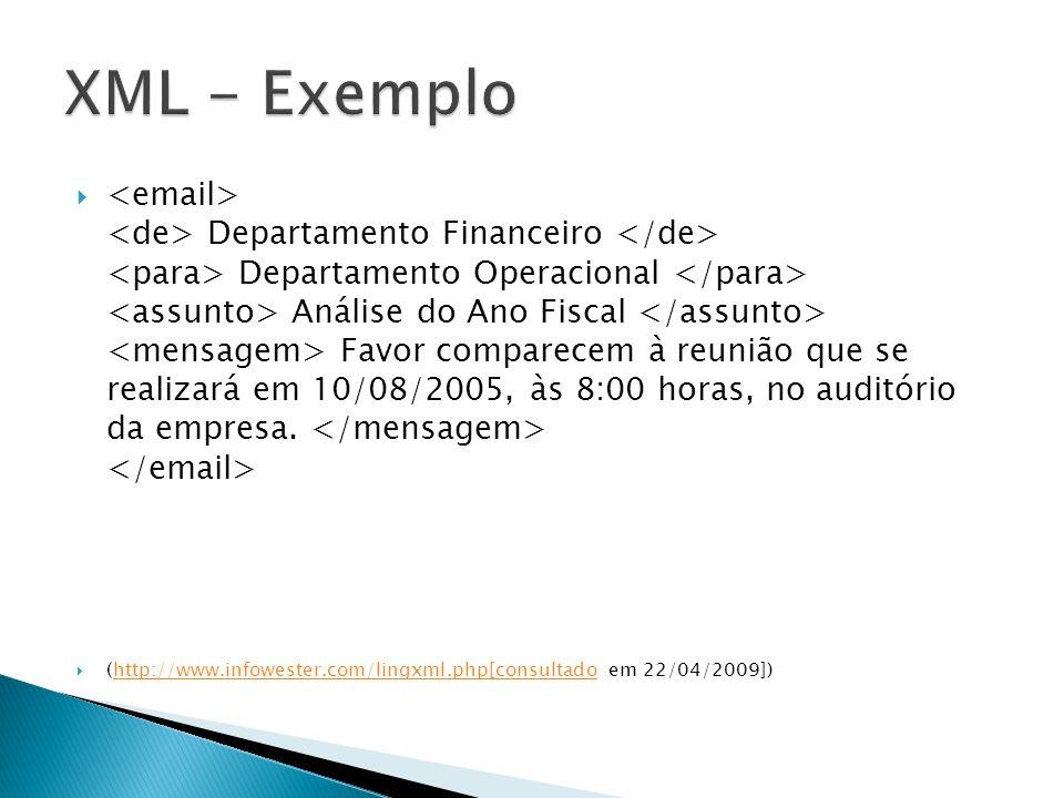 XML - Exemplo