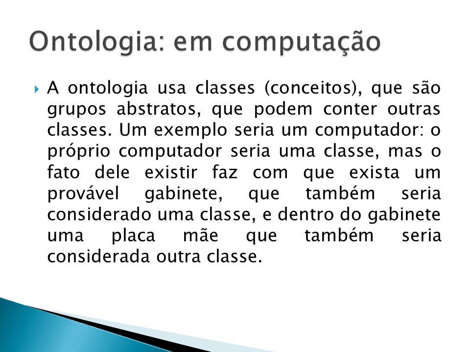 Ontologia: em computação