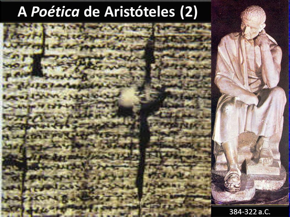 A Poética de Aristóteles (2)