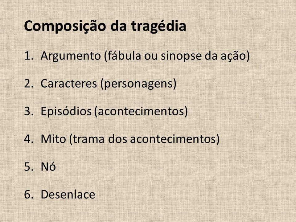Composição da tragédia