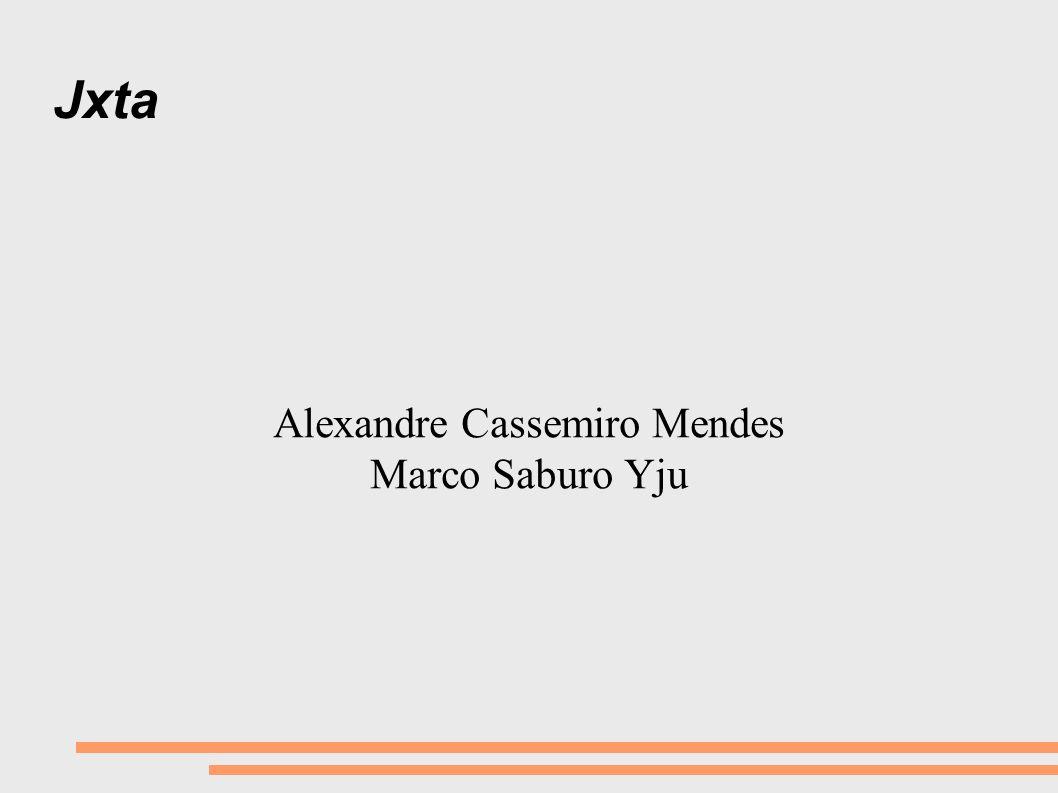 Alexandre Cassemiro Mendes Marco Saburo Yju