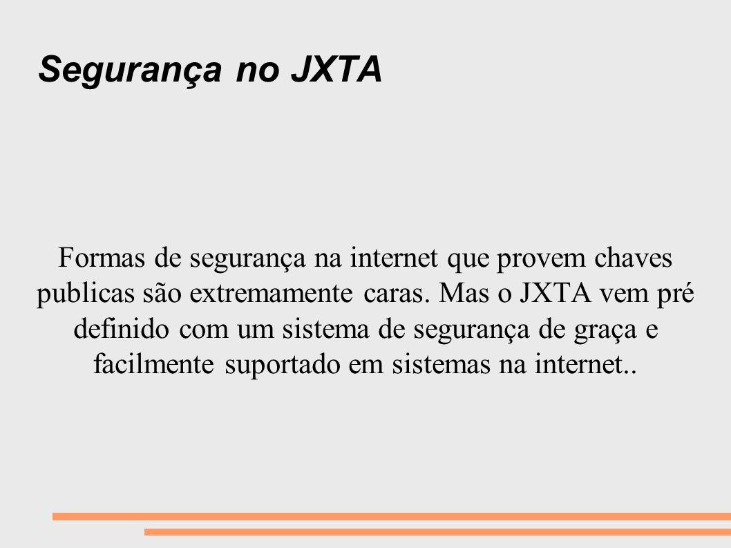 Segurança no JXTA