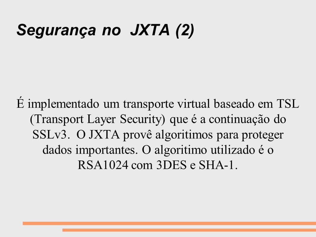 Segurança no JXTA (2)