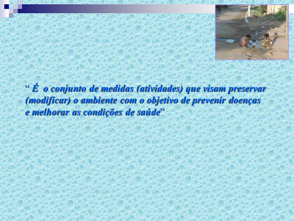 É o conjunto de medidas (atividades) que visam preservar