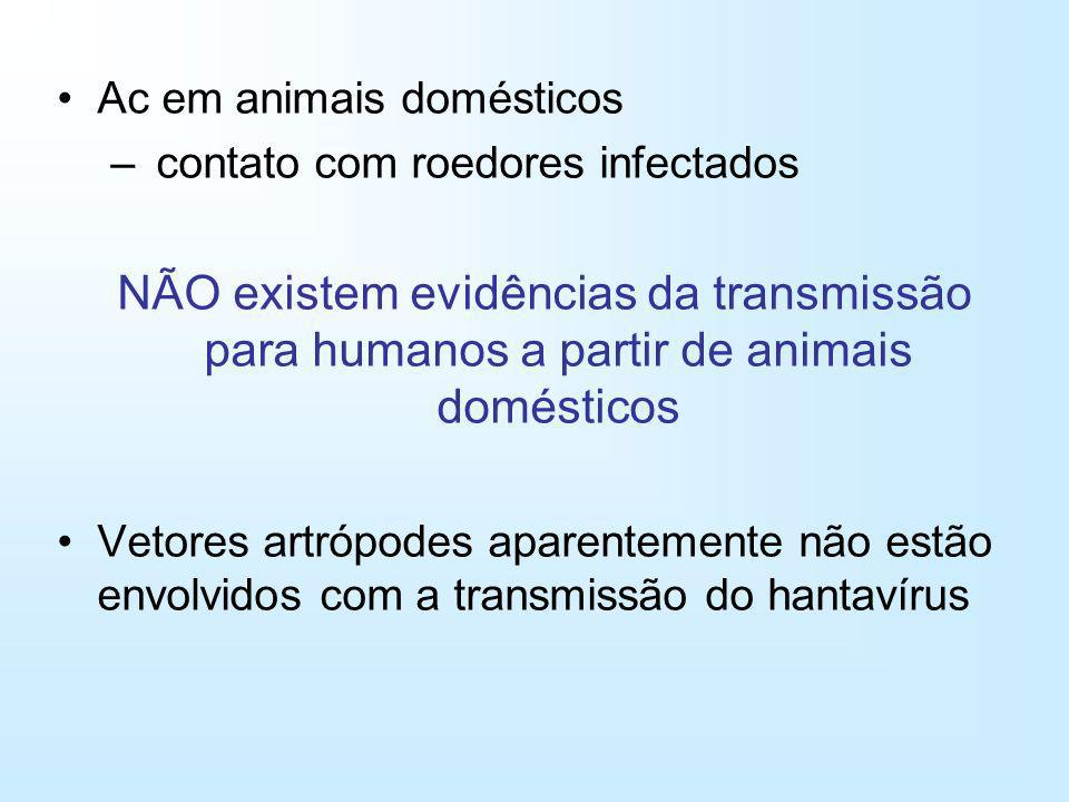 Ac em animais domésticos