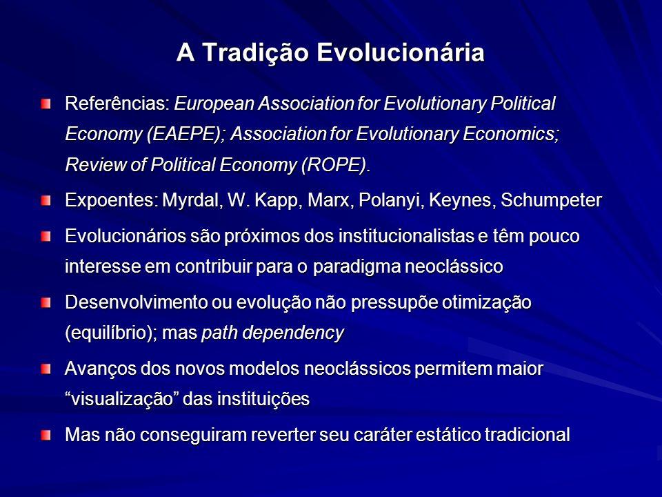 A Tradição Evolucionária