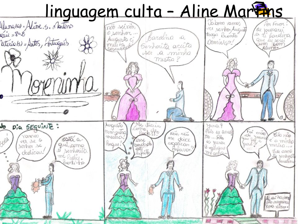 linguagem culta – Aline Martins