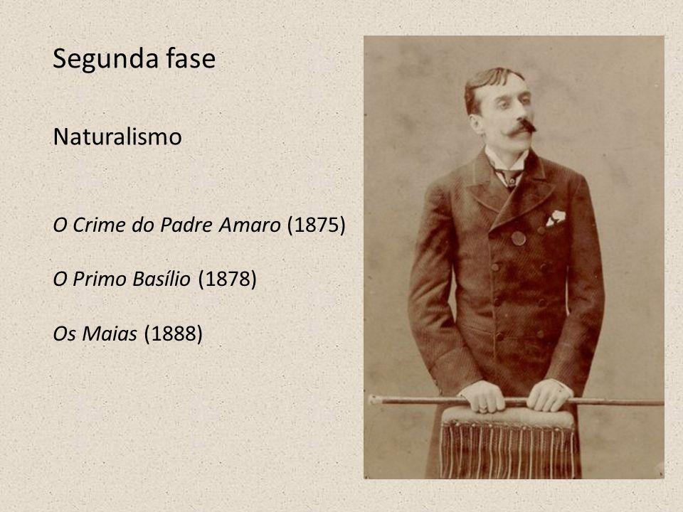 Segunda fase Naturalismo O Crime do Padre Amaro (1875)