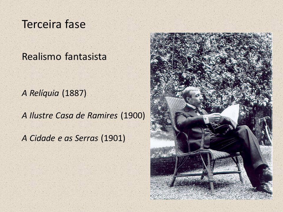 Terceira fase Realismo fantasista A Relíquia (1887)