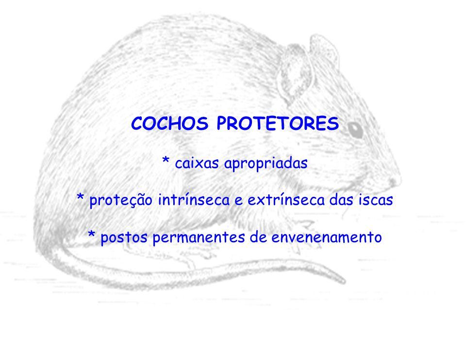 COCHOS PROTETORES * caixas apropriadas