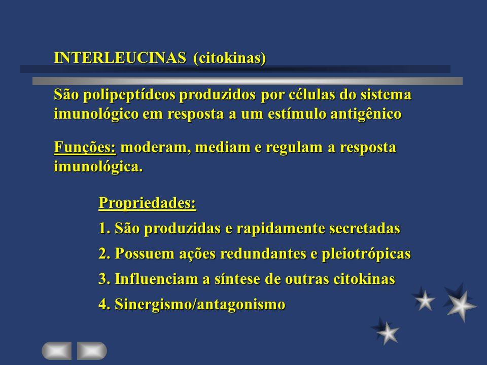 INTERLEUCINAS (citokinas)