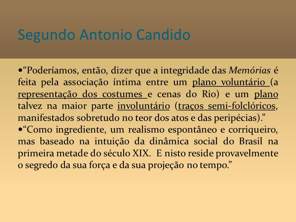 Segundo Antonio Candido