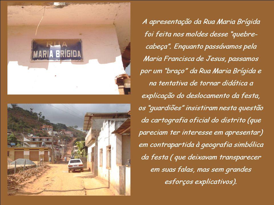 A apresentação da Rua Maria Brígida foi feita nos moldes desse quebre-cabeça .