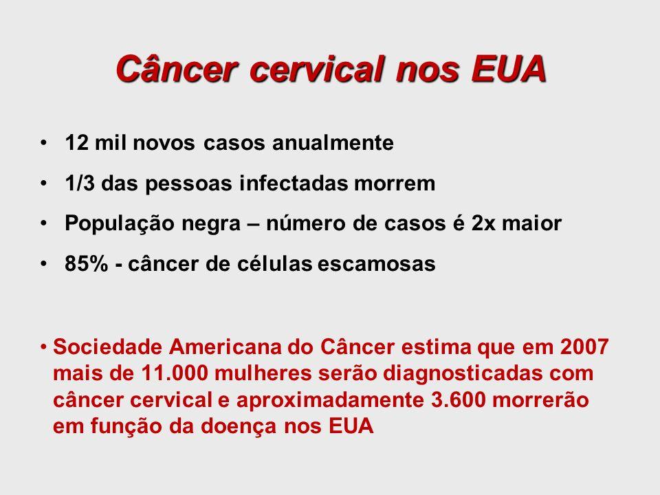 Câncer cervical nos EUA
