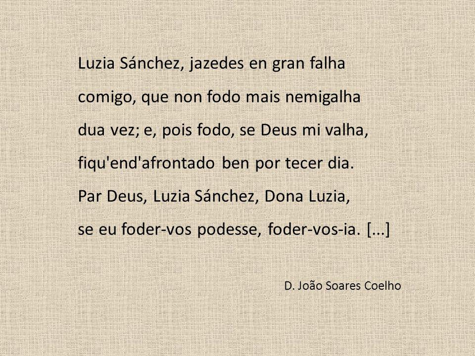 Luzia Sánchez, jazedes en gran falha