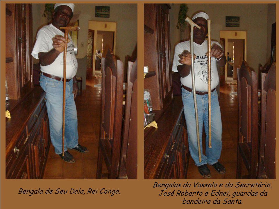 Bengala de Seu Dola, Rei Congo.