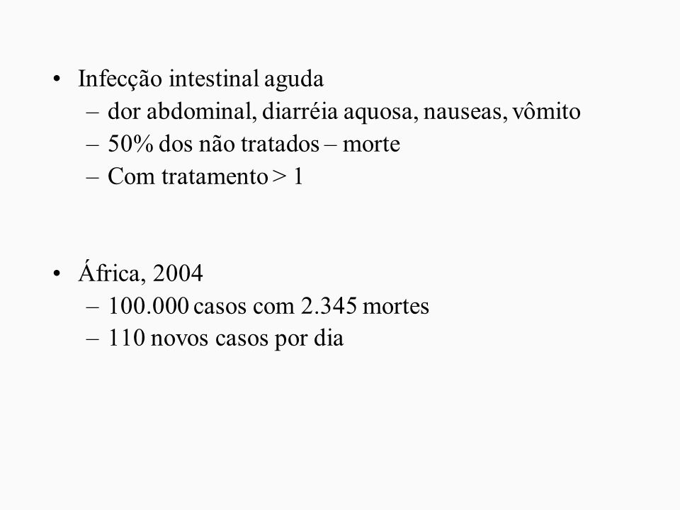 Infecção intestinal aguda